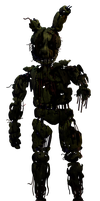 Withered Springtrap by GoldenNove