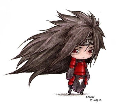 .:madara chibi:. colored by Liedeke