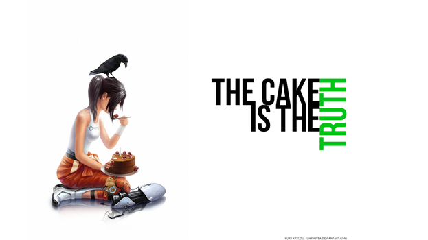 The Cake Wallpaper by LimonTea