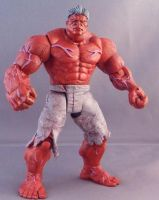 The Incredible Red Hulk by Shinobitron