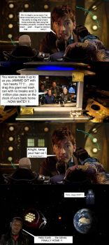 The Doctor is sorry to the Red Dwarf boys by DoctorWhoOne