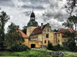 Old palace in Straupe, Latvia by IronCrusader