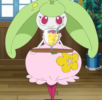 Steenee serves a Juice