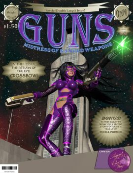 Guns - Mistress of Ranged Weapons by Agent-0013