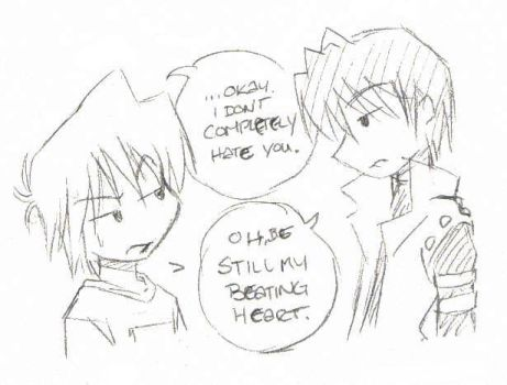 More puppyshipping snark by rika-chan