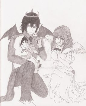 Fright Night Family Fantasy by Rissi-Chan