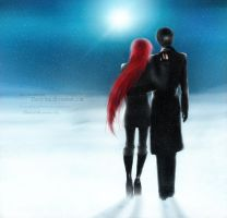 William and Grell 'Silence' by Dantelian