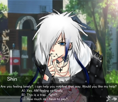 Anime with pervy dating sim girl