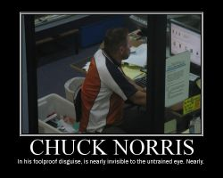 Chuck Norris Motiv. Poster by Stollrofl