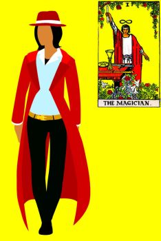 Tarot Fashion: The Magician by golddew