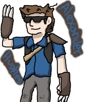 Nuzlocke RWBY Collab: Alexander Hughes by TheATS99