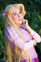 rapunzel's smile by clefchan
