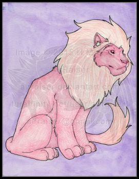 Original: Watercolor and Ink Lion 2015 by AirRaiser