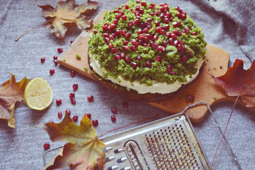 Forrest moss cake by SunnySpring