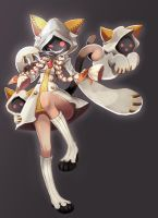 Taokaka from Blazblue by PencilTales