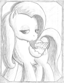 Pencil Pony by Popprocks