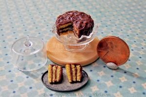 1:12 Yellow Cake with Chocolate Frosting by Bon-AppetEats