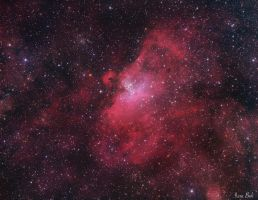 The Eagle Nebula by turbulentvortex