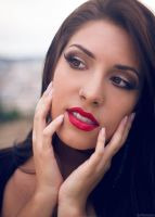 Red my lips by mariannaphotography