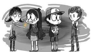 starving in gravity falls by bonnca