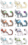 Snake Masked Creature Adopts (OPEN!!!!!!) by Vexlovely