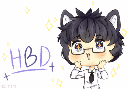 HBD MY BROTHER  !! by Tiffy-OoO