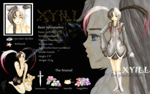 .+Xyill+. Character Sheet V.2 by elithranielle