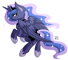 Sassy Luna Doesn't Conform To Your Standards by Amazing-ArtSong