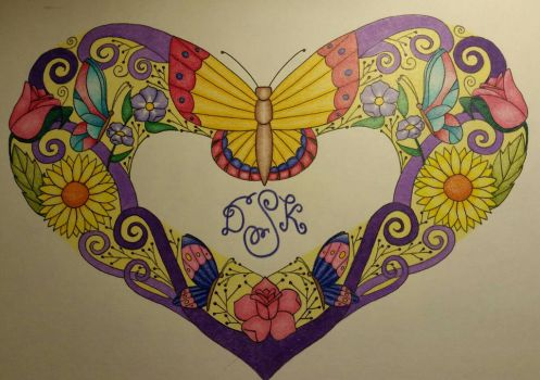 Butterfly Heart by CrazieCathie