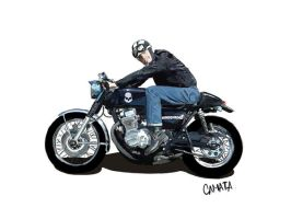 Cafe Racer by coisasdocamata