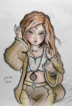 Ariel drawing.. by L63player
