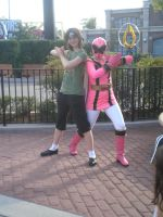 Me and the Pink Ranger by Phenom-Jak