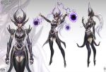 Syndra The Dark Sovereign Official Concept Art by Zeronis