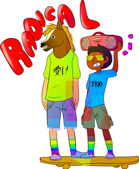 Radical Boys! by kiifayce