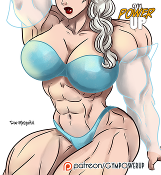 Elsa - Gym Power Up by roemesquita
