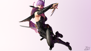 Ayane 3Ds Max 4 by Blueseeker93