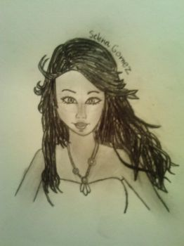 Realistic attempt at Selena Gomez by puddinglover12