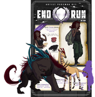 End Run Rogue NPC App: Madara Margret by Sor-RAH