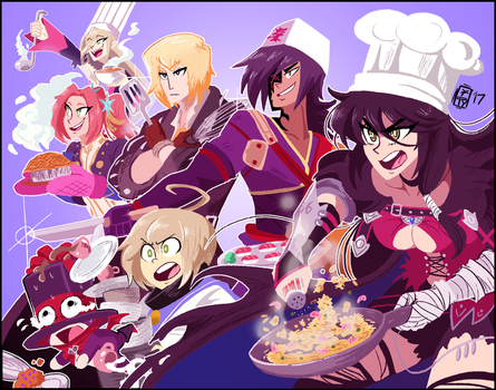 It's Time to Cook! by ScruffyPalmTrees