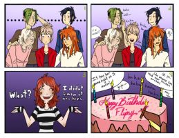 Happy Birthday Flipfloppery By Yaoiobsessedfan by SollinFaolan