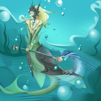 Nami - League of Legends by PokeLyria