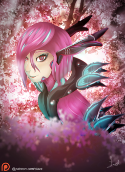 Titania by Clavaa