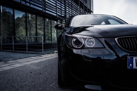 Photosession with Linus and his BMW M5 by aegda