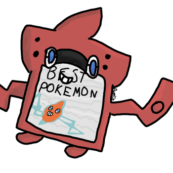 Rotom Dex by ForestTheLord