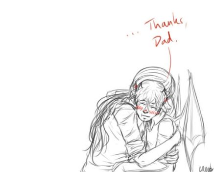 Thanks, Dad by Kermitwaffle