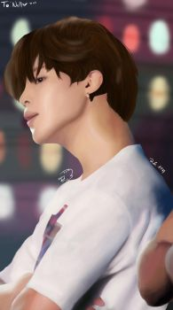 Jimin's Jawline by raynst0rm