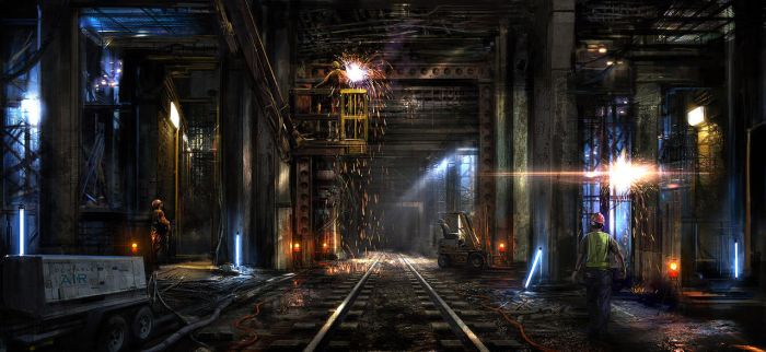 Subway Repair by atomhawk