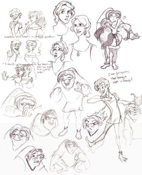 SD17 :Hunchback of Notre Dame by antoinette721