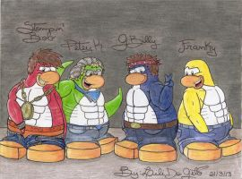 The Penguin Band Hot Version by LiliDoGelo