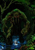 Man-Thing by tomcrielly